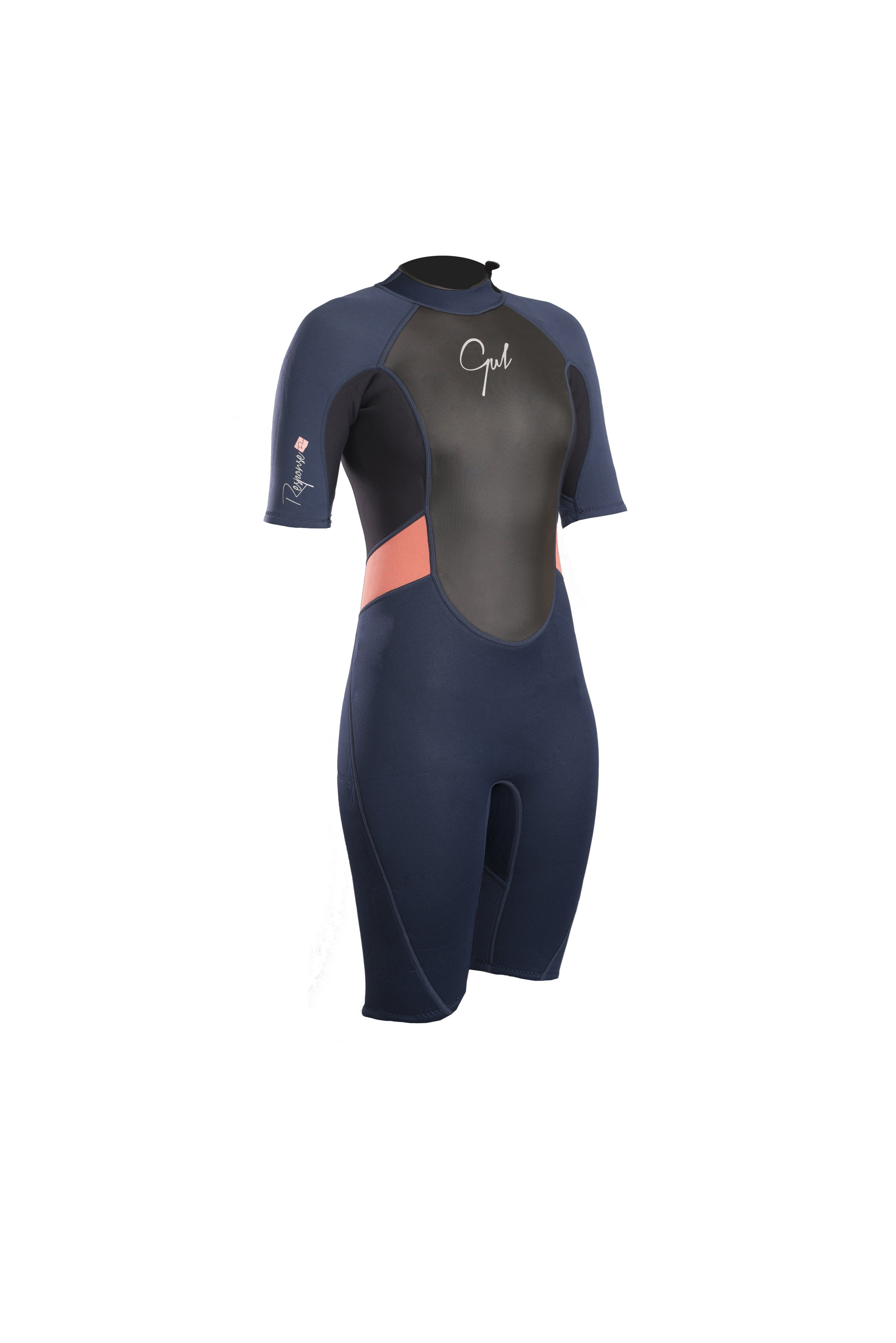 Gul Response Ladies 3/2mm Fl Shorti Wetsuit   Re3318-B4