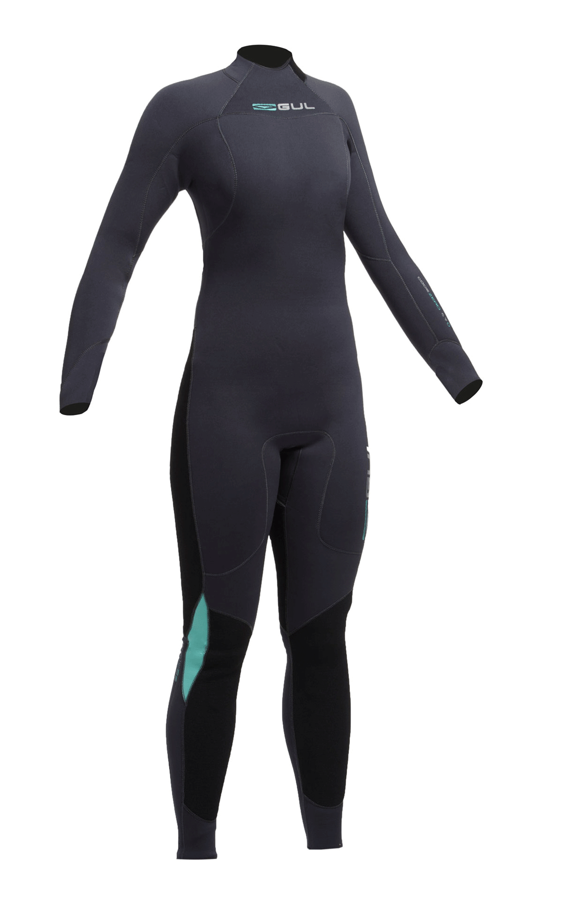 Gul Code Zero Ladies 4/3mm Bs Wetsuit   Cz1202-B2