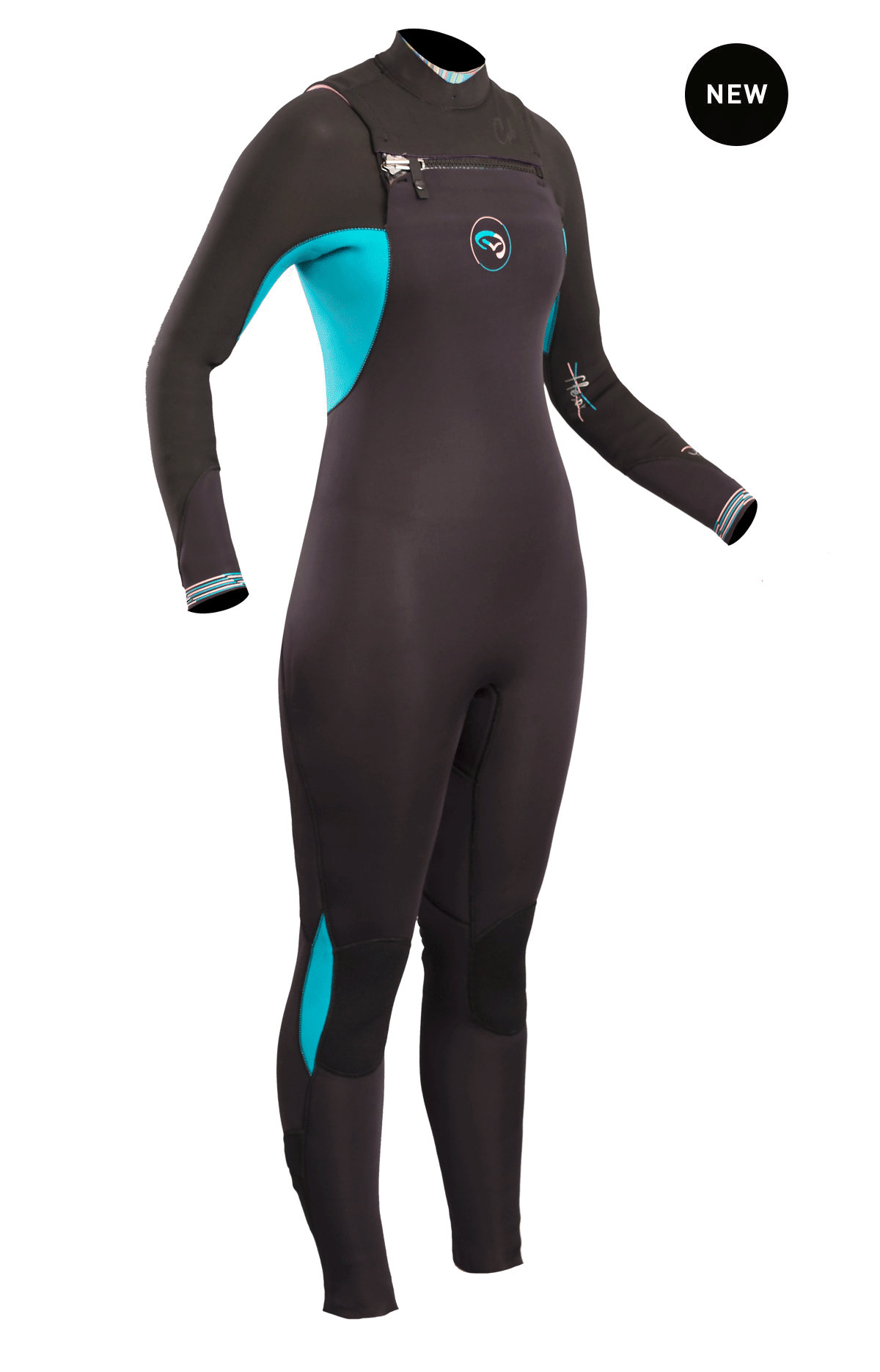 Flexor Ladies Cz 3/2mm Bs Wetsuit   Fx1212-B4