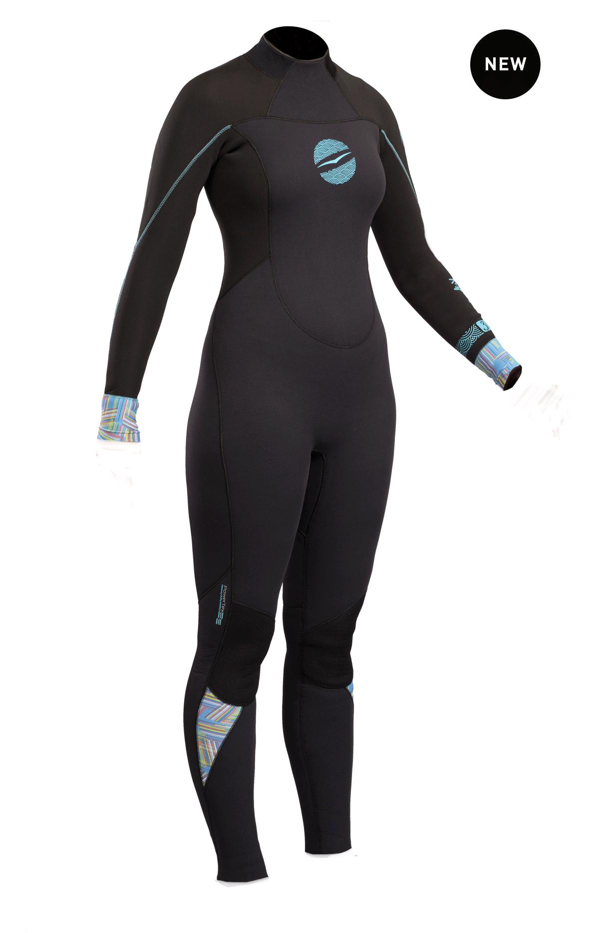 Gul Response Ladies 3/2mm Bs Wetsuit   Re1232-B4