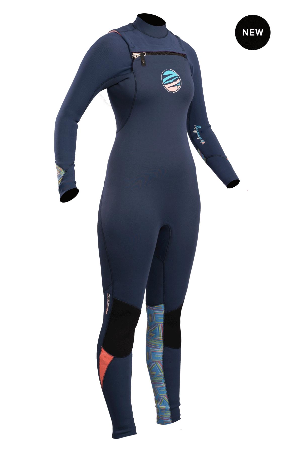 Gul Respones Fx Ladies Cz 3/2mm Bs Wetsuit  Re1262-B4