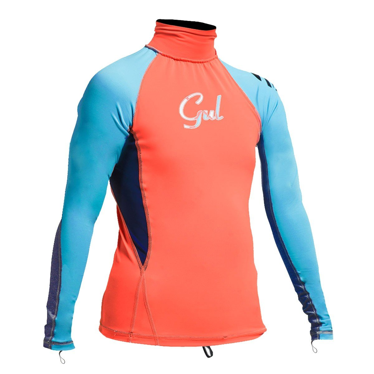 Gul Junior Girls Long Sleeve Rashvest   Rg0346-B4